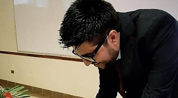 Hijo de Evo vence su examen para convertirse en Ingeniero Civil