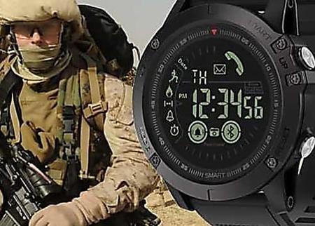Pourquoi tout le monde achète cette Smartwatch militaire?