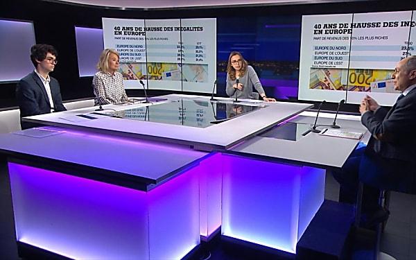 La semaine de l'éco - Europe : 40 ans d'inégalités de revenus