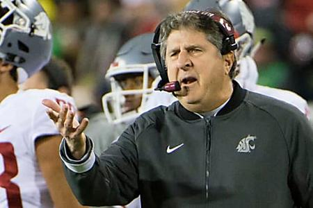 Mike Leach Calls Washington State Players 'Frauds' After Losing To California