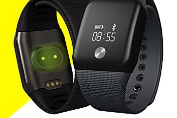 Relógio Inteligente IOS e Android, Prova d'Água e Monitor Cardíaco