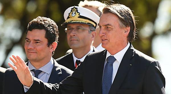 Opinião - Elio Gaspari: Está tenso o clima entre Jair Bolsonaro e Sergio Moro