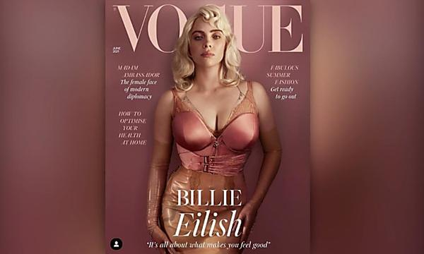 Billie Eilish is talking about the reaction to that Vogue cover