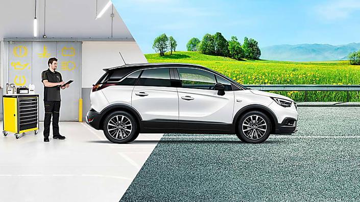 Opel è sempre a tua disposizione con la rete dei suoi Riparatori Autorizzati.