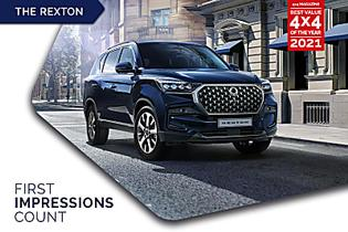 Award-winning 7-seater SUV with full off-road capabilities