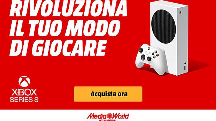 Scopri la nuova Xbox Series S da MediaWorld