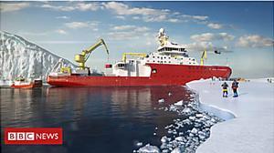 Polar ship: It's even got a coffee shop