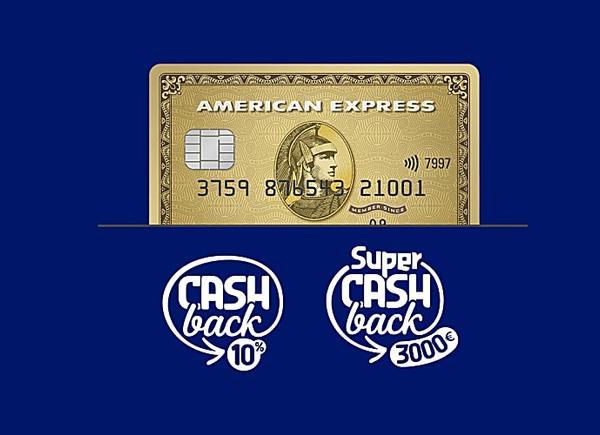 Con Carta Oro American Express hai €150 di sconto sui tuoi acquisti con Carta