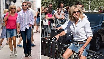 La raison inattendue pour laquelle Brigitte Macron ne porte que des robes ou des jupes courtes