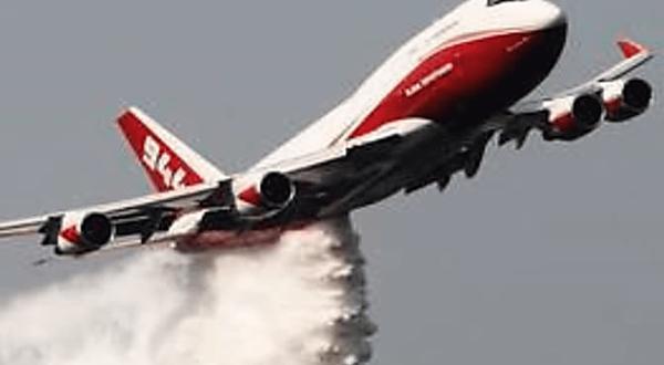 Los tres aviones más potentes para combatir incendios