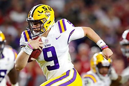 LSU Leads Week 12 College Football Polls, Alabama Drops