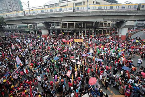 Don't join rallies, PNP tells students