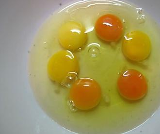 Esto es lo que dice el color de la yema de huevo sobre la salud del pollo