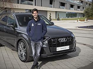 Real Madrid : les joueurs prennent livraison de leurs Audi