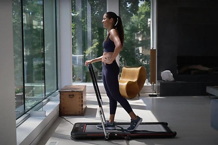 Meet Treadly, the foldable treadmill perfect for your home workouts