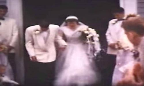 [Pics] A Man Was Watching His Parents' Wedding Video From 1953 When He Spots A Disconcerting Detail