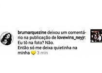 Bruna Marquezine faz desabafo após ser zombada por amigos de Neymar