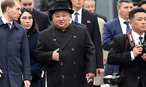 Vladimir Putin and Kim Jong Un hold first summit