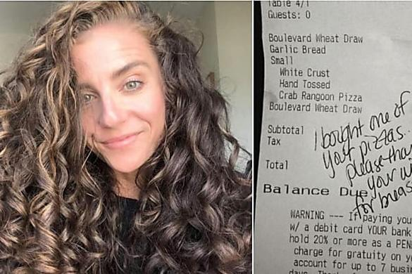 [Pics] Waitress Slips Married Man A Note, Wife Later Learned What It Said
