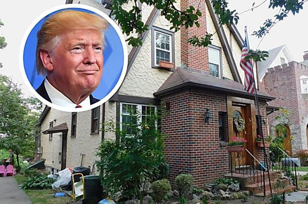 President Donald Trump's Childhood Home Up For Auction Again