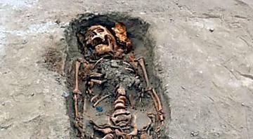 Hallan restos del mayor sacrificio de niños de la historia