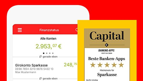 Ihr Konto: Beste Banking-App.