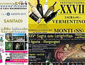 Weekend 2, 3, 4 agosto 2019: Ecco eventi, sagre e concerti da non perdere in Sardegna!
